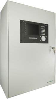 SecuriFire 3000 Basic Version, with built-in operating panel