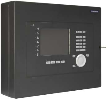 SecuriFire 500 Basic Version, with built-in operating panel