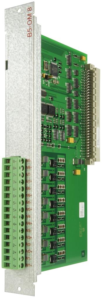 Monitored output board B5-OM8