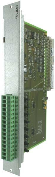 Surveyed input board B3-IM8